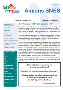 Publication n°1 - Septembre 2017